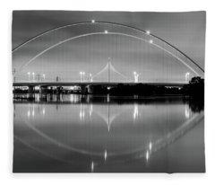 The Margaret Mcdermott Bridge Fleece Blanket