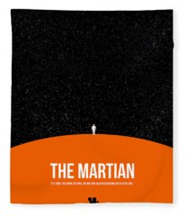 The Martian Fleece Blanket