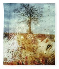 The May Song Fleece Blanket