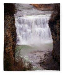 The Middle Falls Fleece Blanket