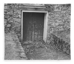 The Mill Door - Waterloo Village Fleece Blanket