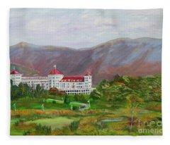 The Mount Washington Hotel Fleece Blanket