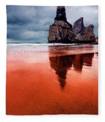 The Needle Fleece Blanket