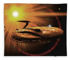 The Nova Star Fleece Blanket