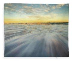 The Ocean 1 Fleece Blanket