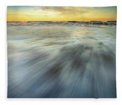 The Ocean 2 Fleece Blanket