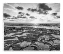 The Other Sunset Fleece Blanket