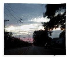 The Passenger 02 Fleece Blanket