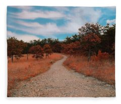 The Path To Enlightenment Fleece Blanket