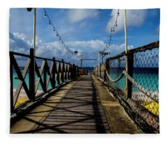 The Pier Fleece Blanket
