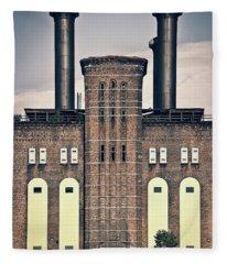 The Powerhouse, Jersey City Fleece Blanket