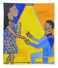The Proposal Fleece Blanket