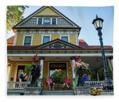 The Rivertown Inn Stillwater Minnesota Fleece Blanket