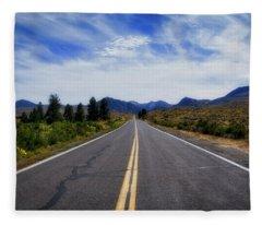 The Road Best Traveled Fleece Blanket