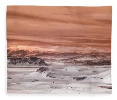 The Road Less Travelled Fleece Blanket