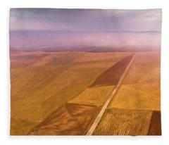 The Road  Fleece Blanket