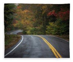 The Road To Friends Lake Fleece Blanket