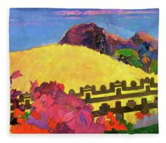 The Sacred Mountain - Digital Remastered Edition Fleece Blanket