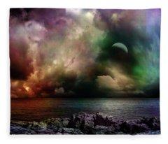 The Sacred Storm Fleece Blanket