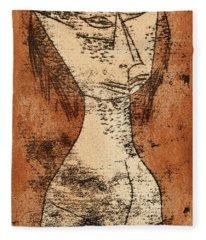 The Saint Of The Inner Light, 1921 Fleece Blanket