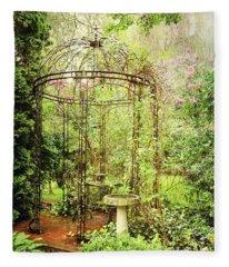 The Secret Garden Fleece Blanket