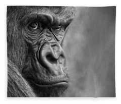 The Serious One Fleece Blanket