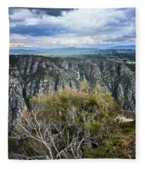 The Sights Of The Sil Fleece Blanket