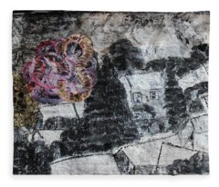 The Slow And Winding Tale Of Destruction Fleece Blanket