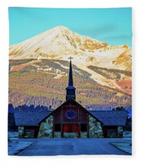 The Soldiers Chapel Fleece Blanket