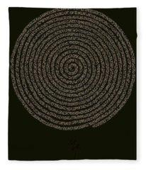 The Spiral Fleece Blanket