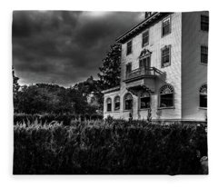 The Stanley Hotel Fleece Blanket