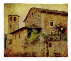 The Stone Church Fleece Blanket