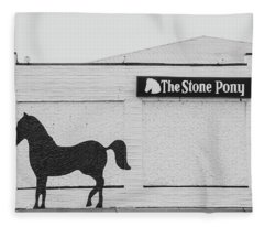 The Stone Pony - Asbury Park Fleece Blanket