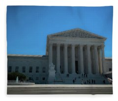 The Supreme Court Fleece Blanket