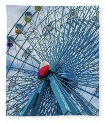 The Texas Star, State Fair Of Texas Fleece Blanket