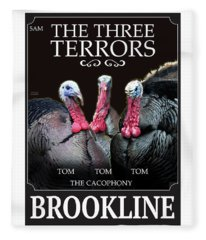 The Three Terrors Fleece Blanket