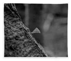 The Tiny Mushroom Fleece Blanket