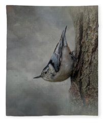 The Tree Walker Fleece Blanket