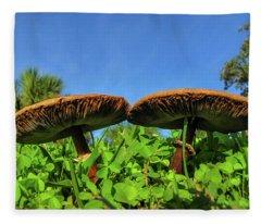 The Twins Fleece Blanket