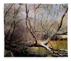 The Unseen Forest Fleece Blanket