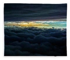 The V'ger Cloud 2012 Fleece Blanket