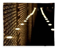 The Vietnam Veterans Memorial Fleece Blanket