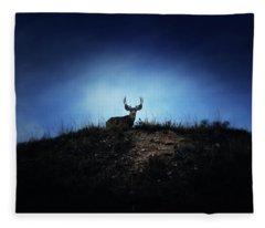 The Visitor  Fleece Blanket
