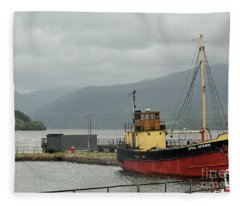 The Vital Spark Fleece Blanket