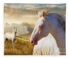 The Wanderer Fleece Blanket