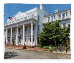 The Willcox Hotel - Aiken Sc Fleece Blanket