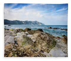 The Winter Sea #1 Fleece Blanket