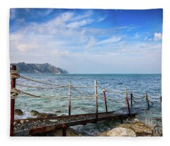 The Winter Sea #2 Fleece Blanket