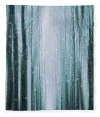 The Winter Wood Fleece Blanket