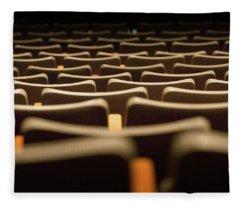 Theater Seats Fleece Blanket